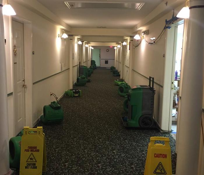 Commercial water loss at a senior home